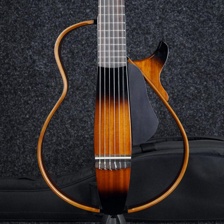 yamaha slg200n silent guitar sunburst w gig bag 2nd hand rich tone music. Black Bedroom Furniture Sets. Home Design Ideas
