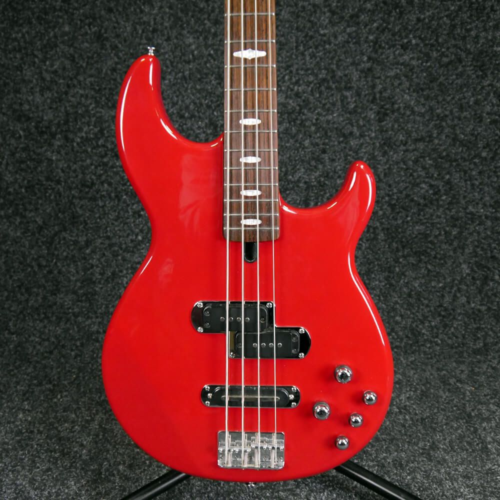 yamaha bb614 electric bass guitar red 2nd hand rich tone music. Black Bedroom Furniture Sets. Home Design Ideas