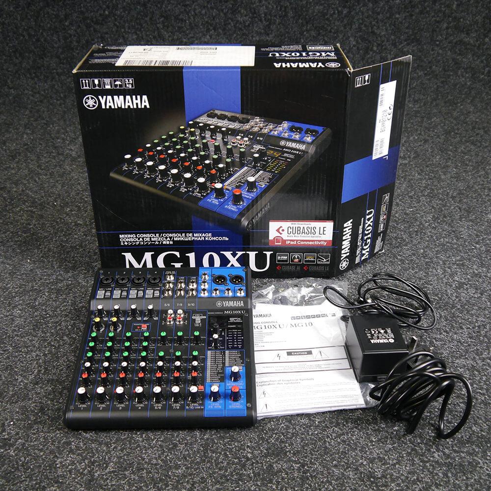 Yamaha MG10XU 10-Channel Mixing Console w/Box & PSU - 2nd Hand