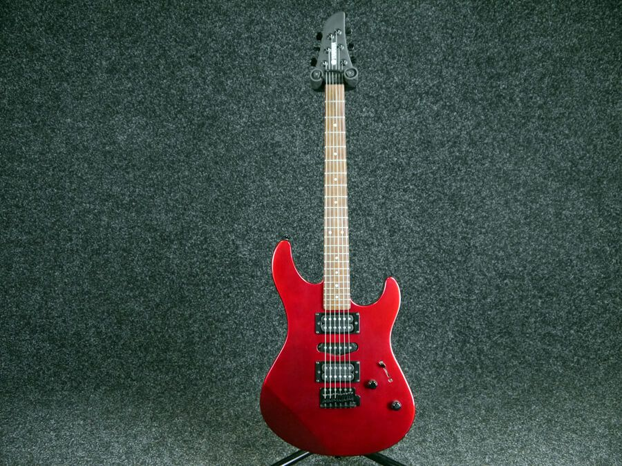 yamaha rgx121z electric guitar red 2nd hand rich tone music. Black Bedroom Furniture Sets. Home Design Ideas