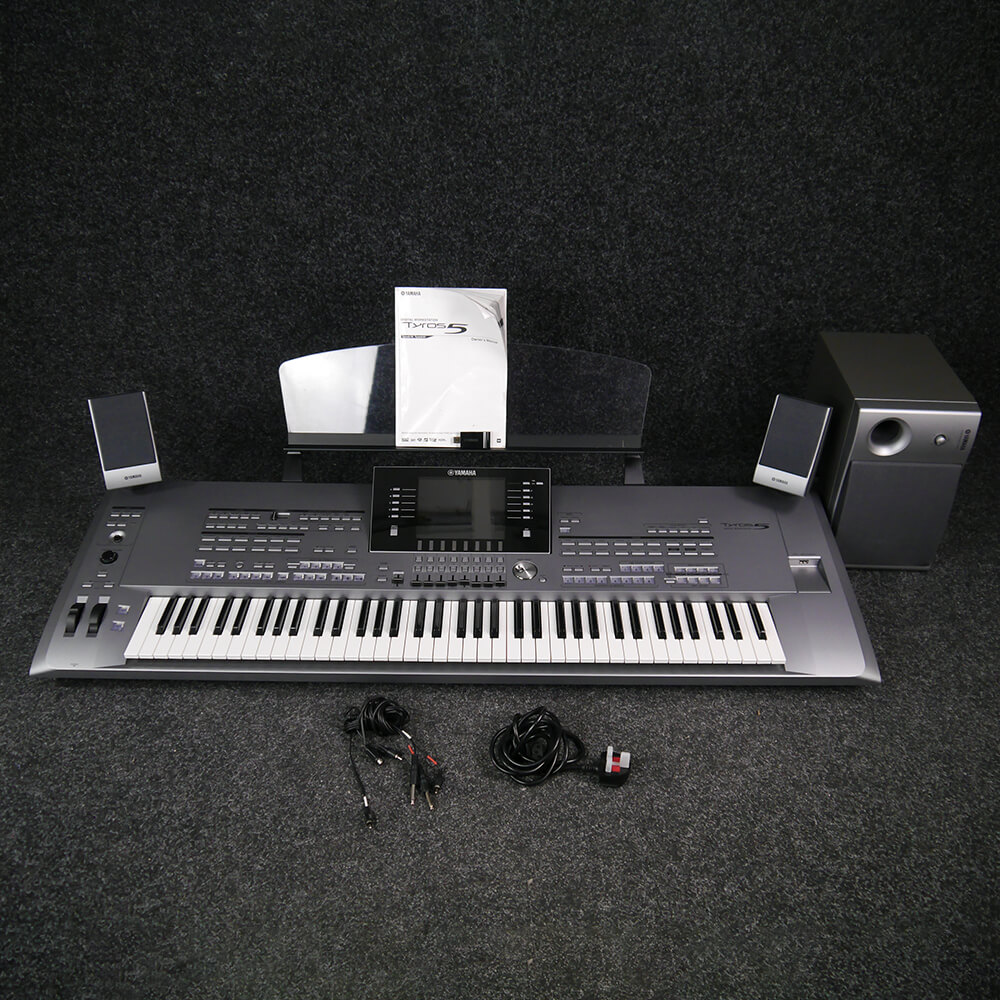 Yamaha Tyros 5-76 With Speaker Pack - 2nd Hand