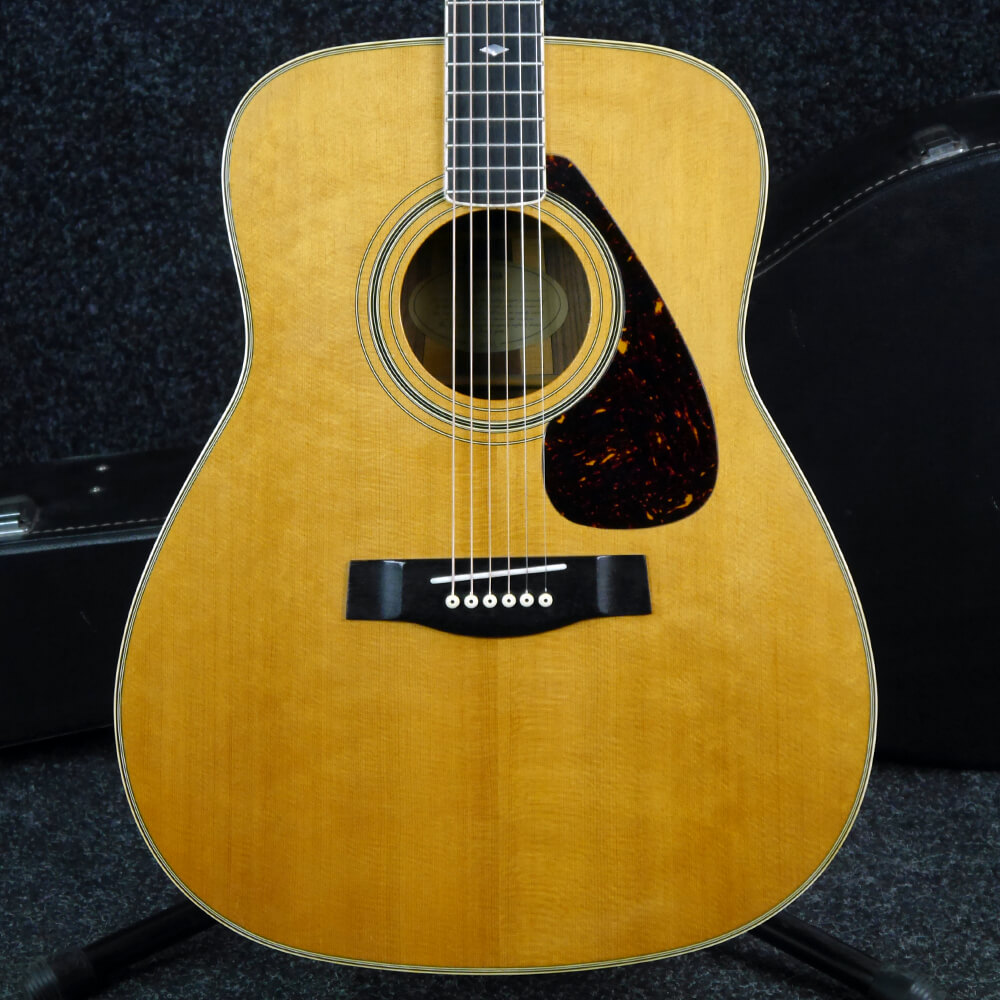 Yamaha FG365S Acoustic Guitar - Natural w/Hard Case - 2nd Hand