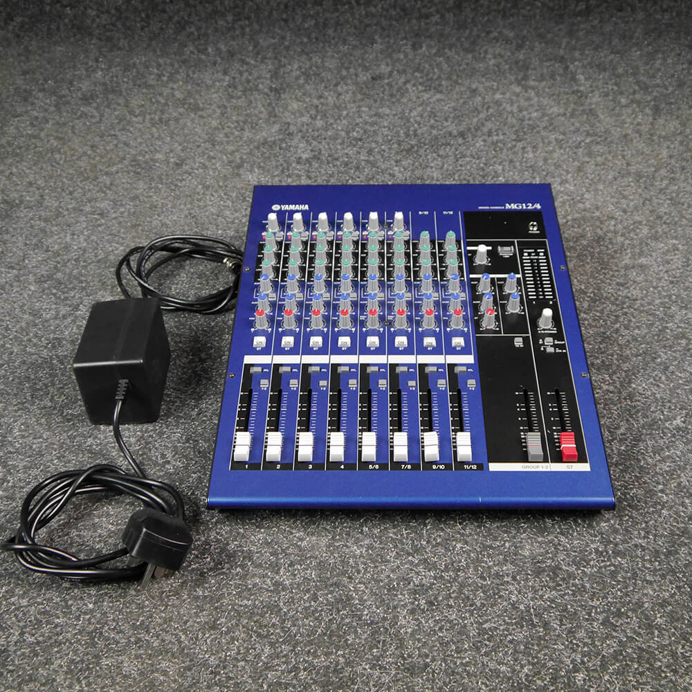 Yamaha MG12/4 12-Channel Mixing Desk - 2nd Hand