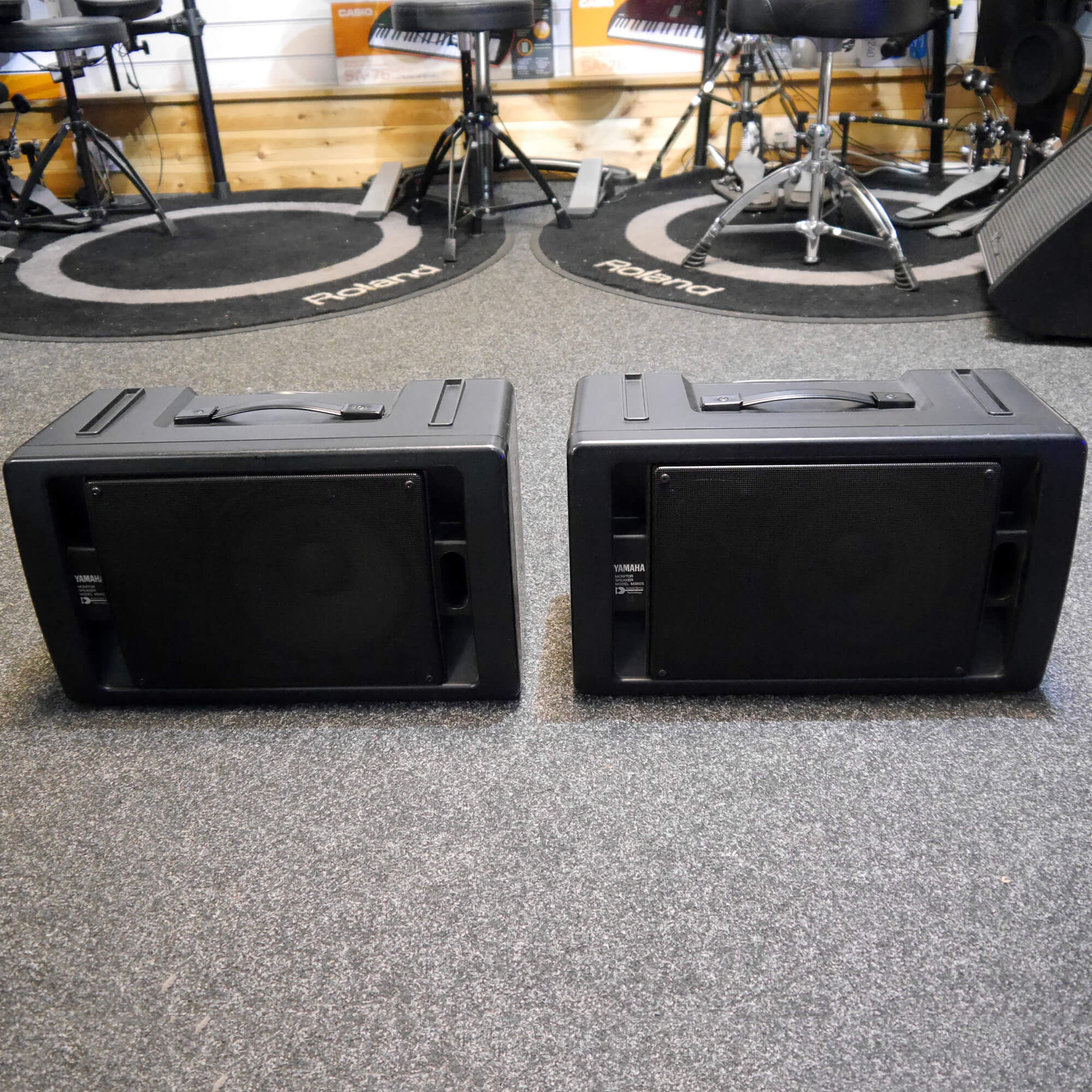Yamaha MS60S Powered Monitor Speaker, Pair - 2nd Hand