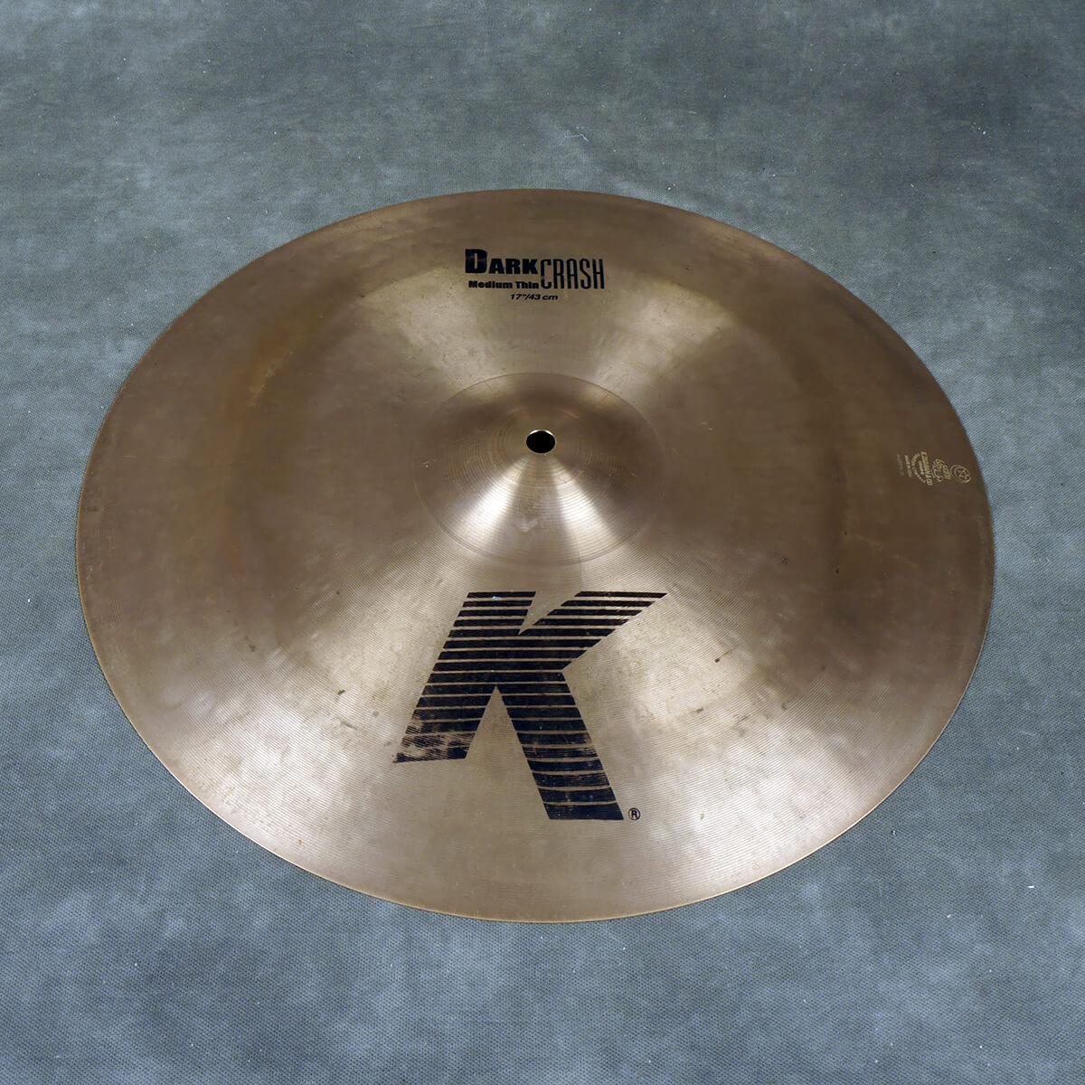 Zildjian 17″ K Custom Dark Crash (C21) - 2nd Hand