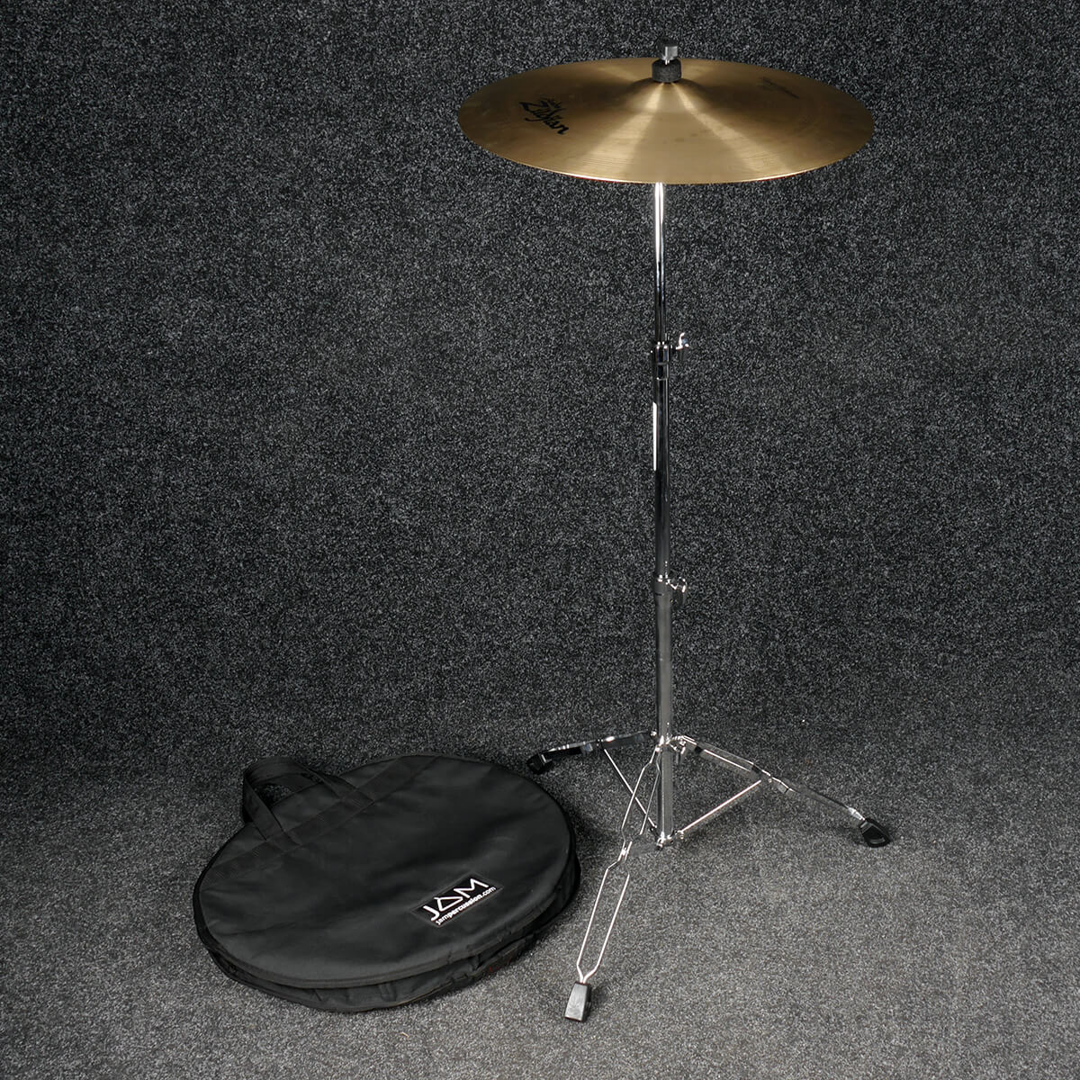 Zildjian Classic Selection Suspended 20in Crash Ride & Stand w/Bag - 2nd Hand