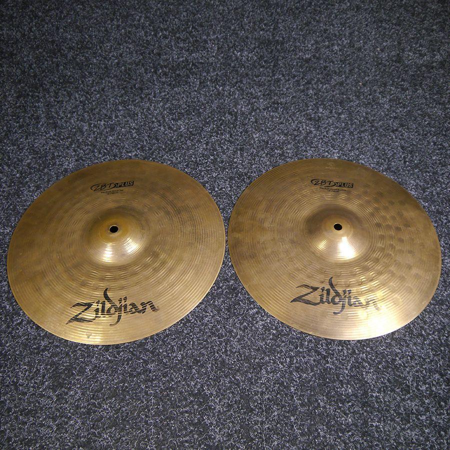 Zildjian ZBT 14 Inch Hi Hat Cymbals - Pair - 2nd Hand