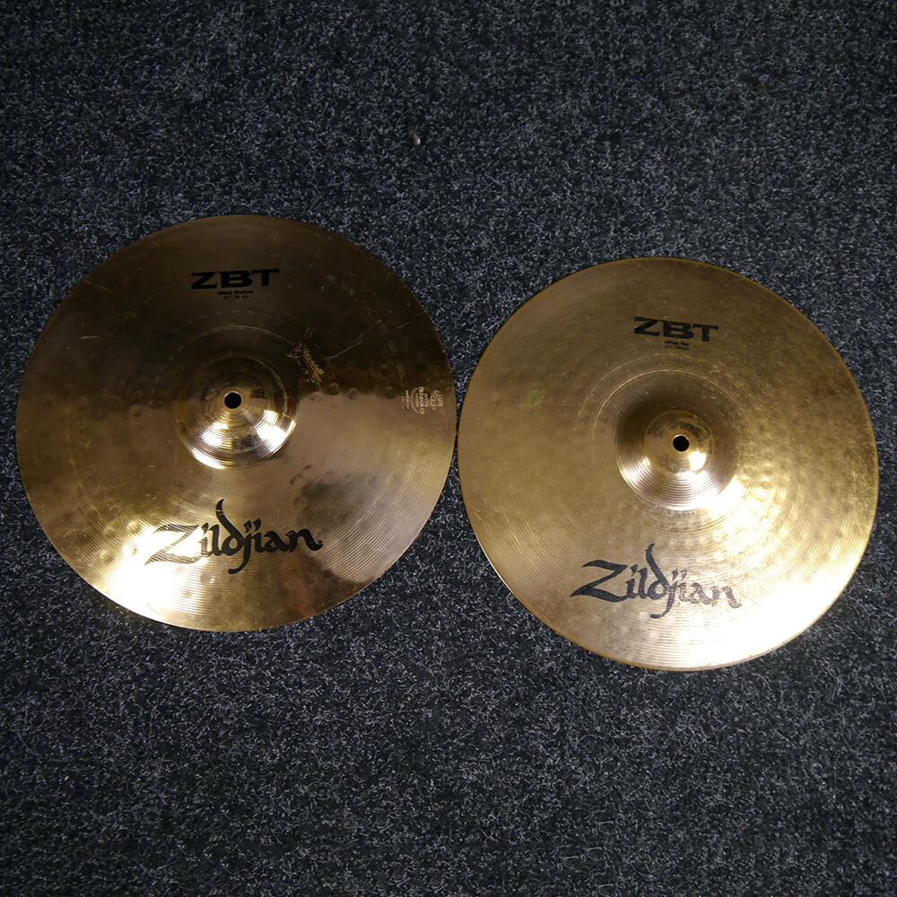 Zildjian ZBT 14″ Hi-Hat Cymbals - 2nd Hand