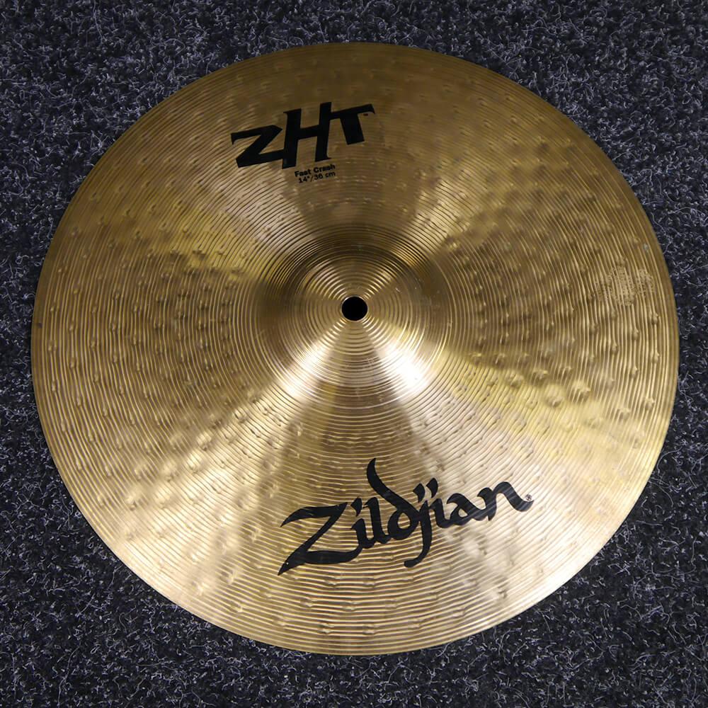 Zildjian ZHT 14″ Crash Cymbal - 2nd Hand