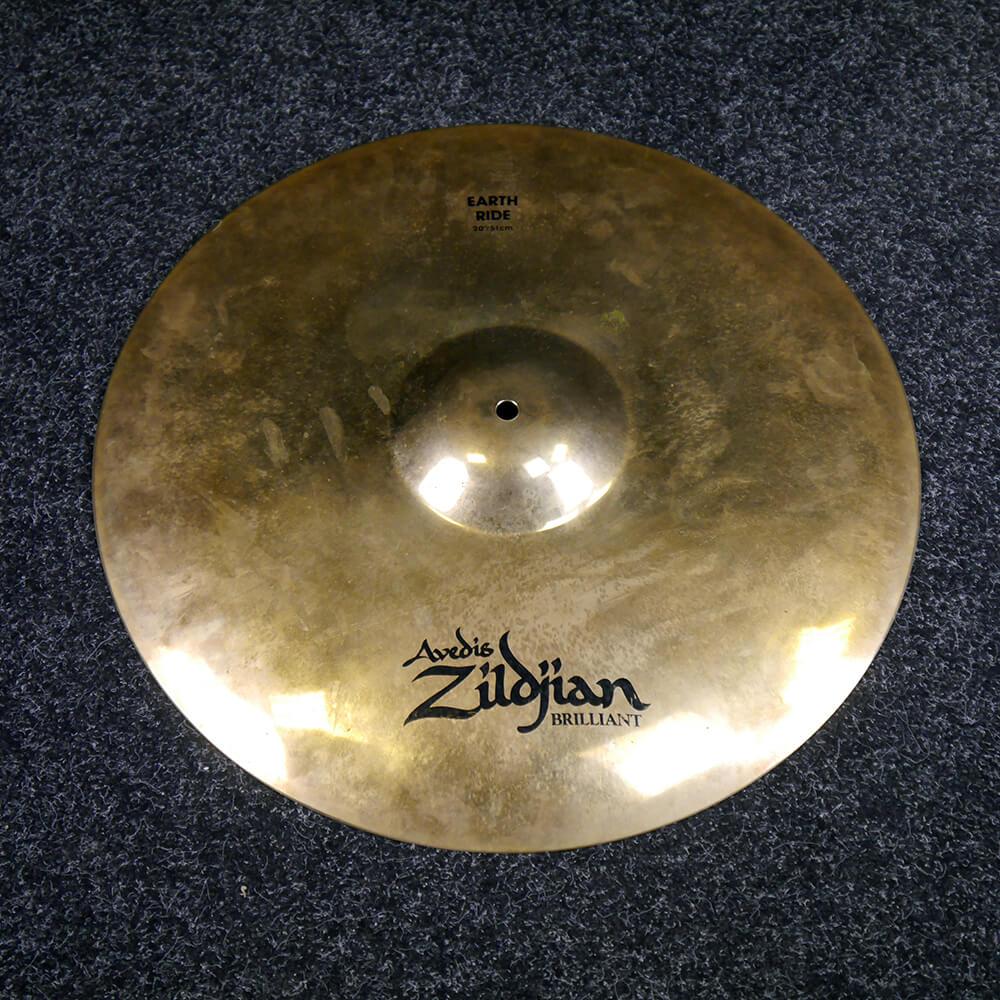 Zildjian Earth Ride 20″ Cymbal - 2nd Hand