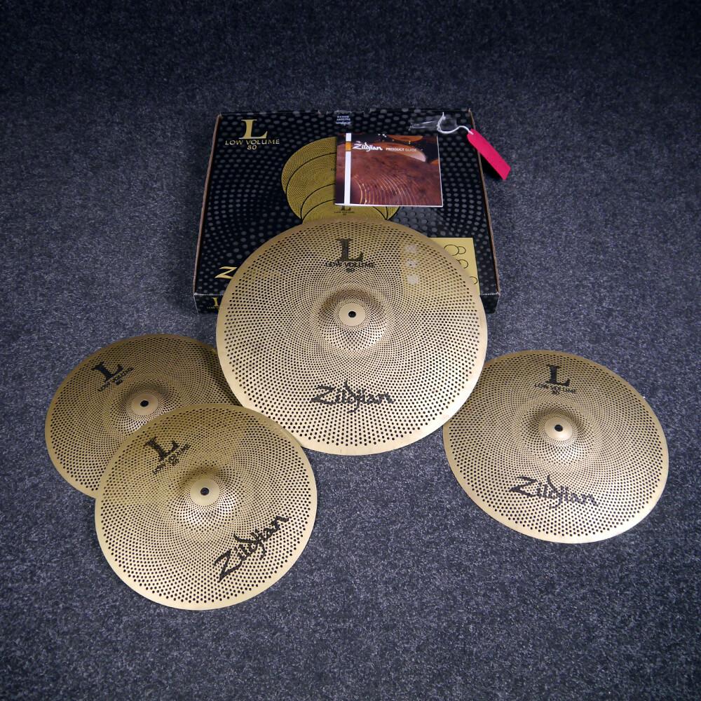 Zildjian L80 Low Volume Cymbal Set w/Box - 2nd Hand