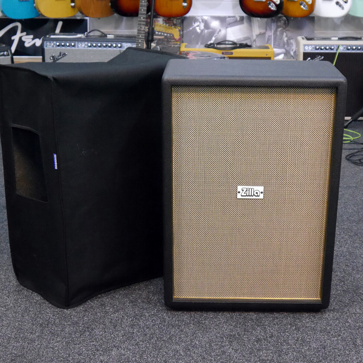 Zilla 2x12″ 8ohm Cab with Celestion Creambacks w/Cover - 2nd Hand