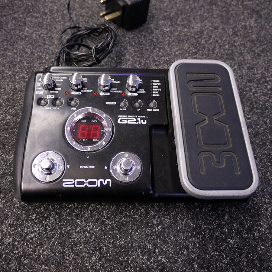 Zoom G2 Pedal : zoom multi fx pedal w psu 2nd hand rich tone music ~ Russianpoet.info Haus und Dekorationen