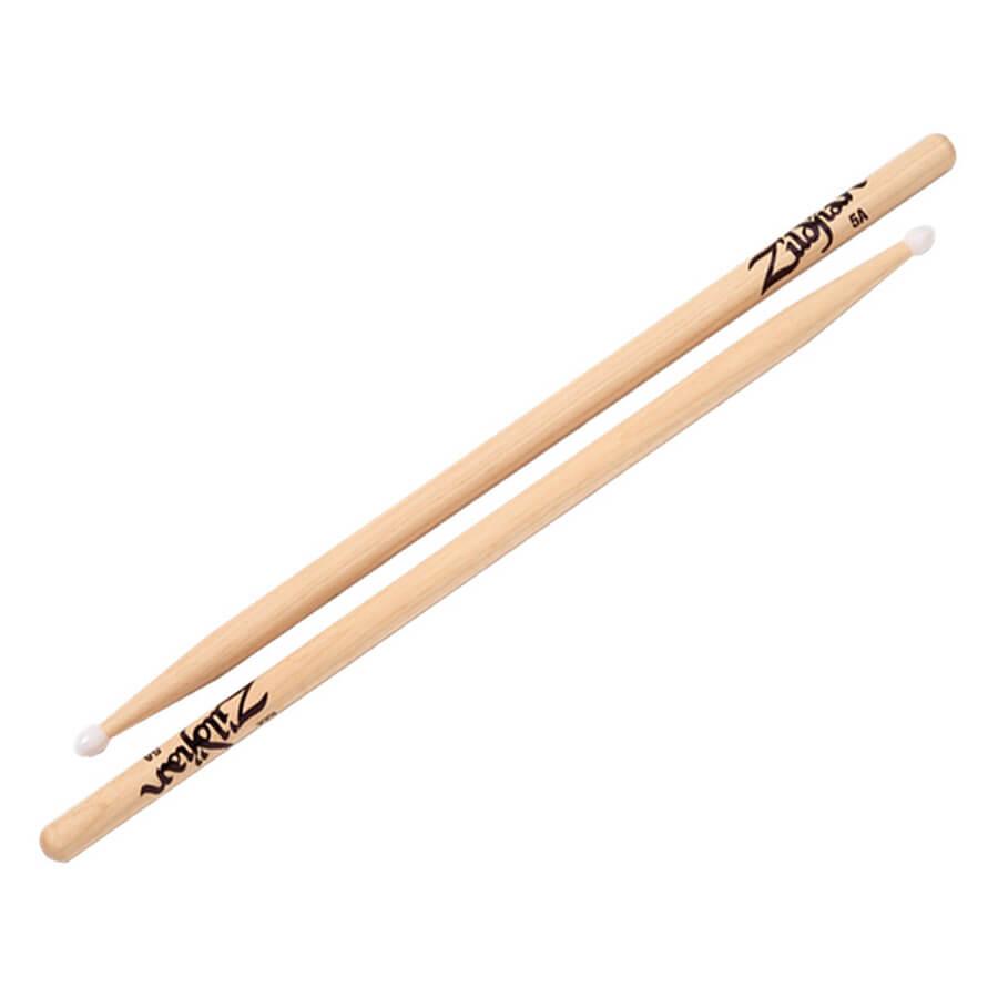 Zildjian 5A Nylon Natural Drumsticks Pair