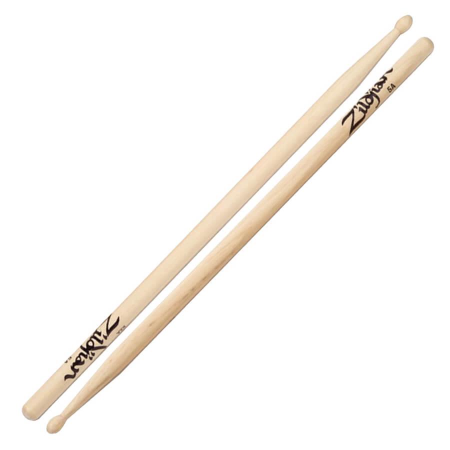 Zildjian 5A Wood Natural Drumsticks Pair