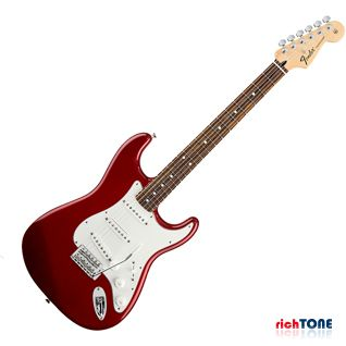 Fender Standard Stratocaster - RW - Candy Apple Red