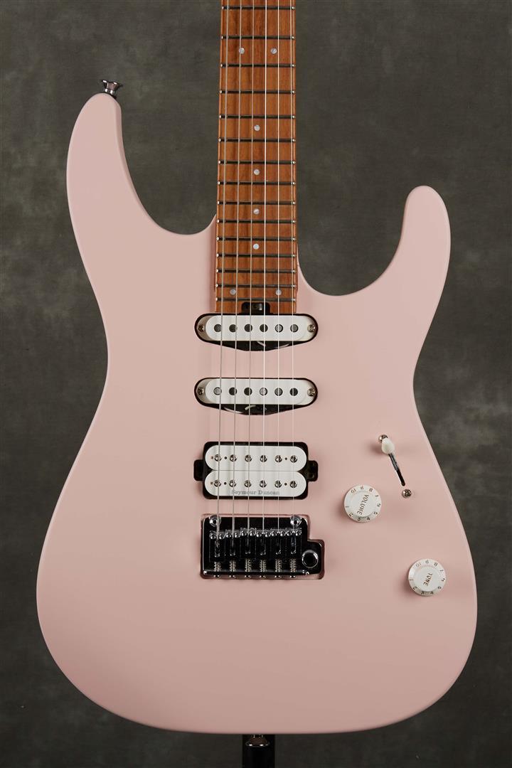 Charvel Pro-Mod DK24 HSS 2PT CM - Satin Shell Pink