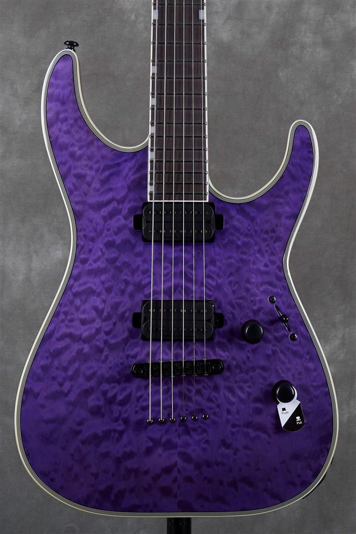 ESP LTD MH Series MH-1000NT - See Thru Purple