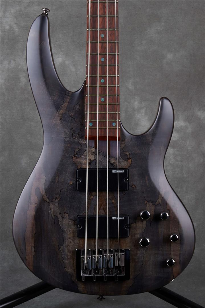 ESP LTD B Series B-204SM - See Thru Black Satin