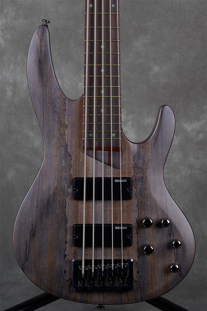 ESP LTD B Series B-205SM - See Thru Black Satin