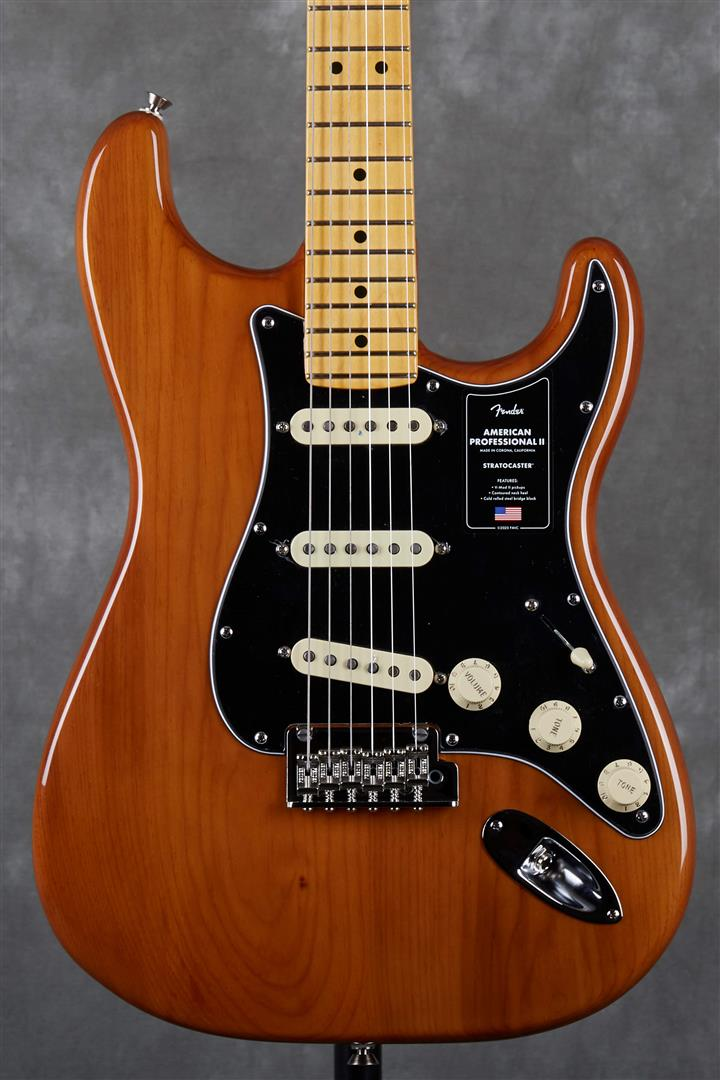 Fender American Professional II Stratocaster - MN - Roasted Pine