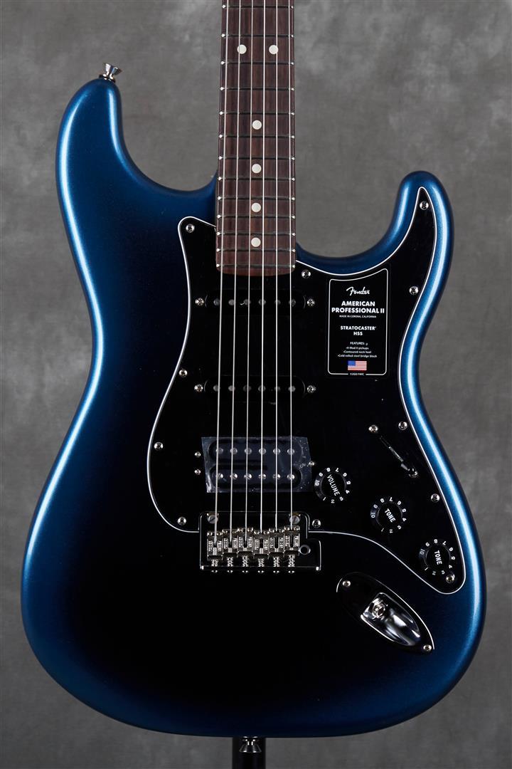 Fender American Professional II Stratocaster HSS - RW - Dark Night