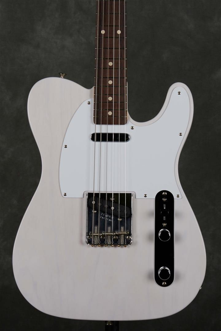 Fender Jimmy Page Mirror Telecaster Artist Model - RW - White Blonde
