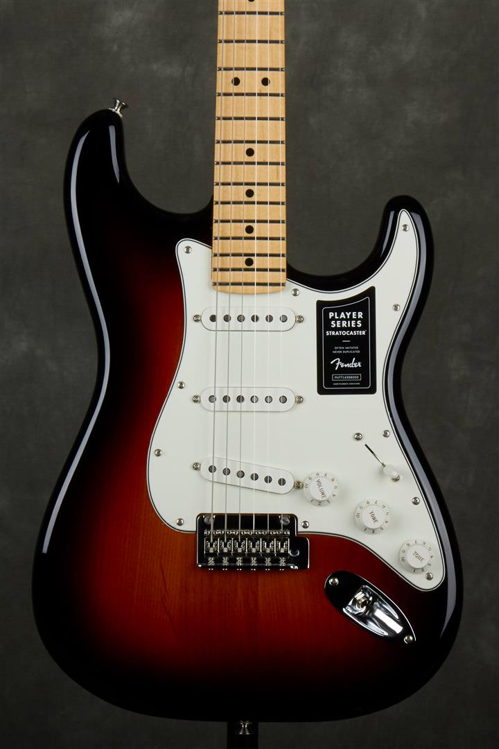 Fender Player Stratocaster - MN - 3-Tone Sunburst