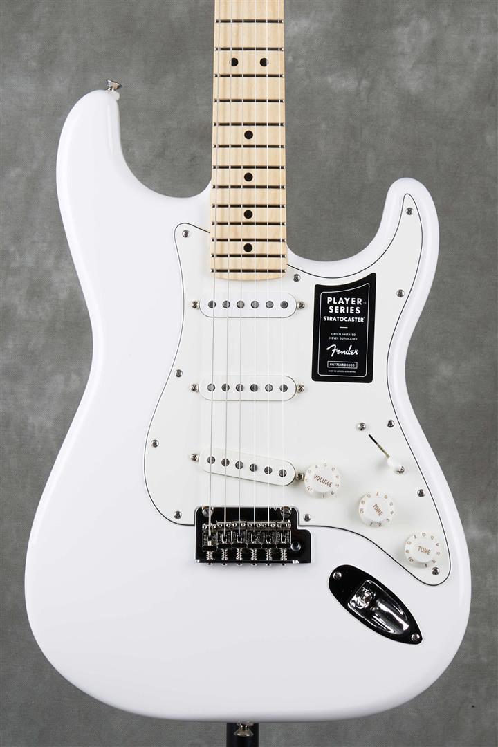 Fender Player Stratocaster - MN - Polar White