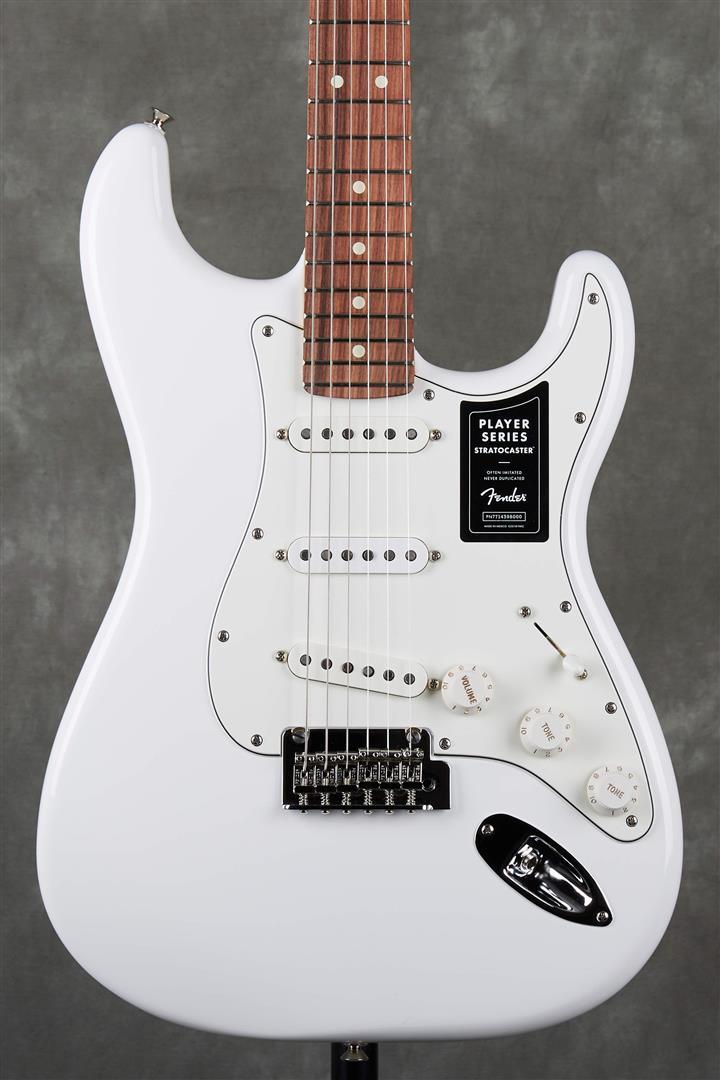 Fender Player Stratocaster - PF - Polar White