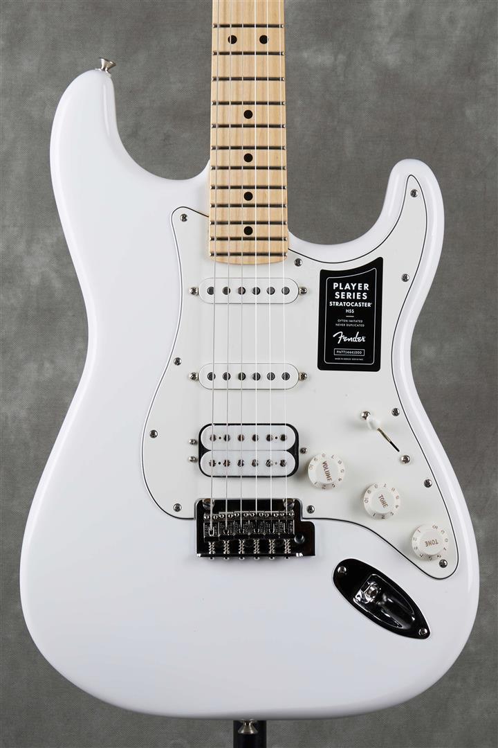 Fender Player Stratocaster HSS - MN - Polar White