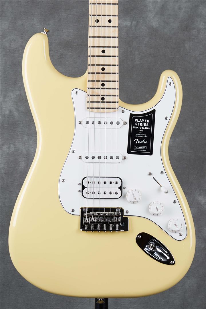 Fender Player Stratocaster HSS - MN - Buttercream