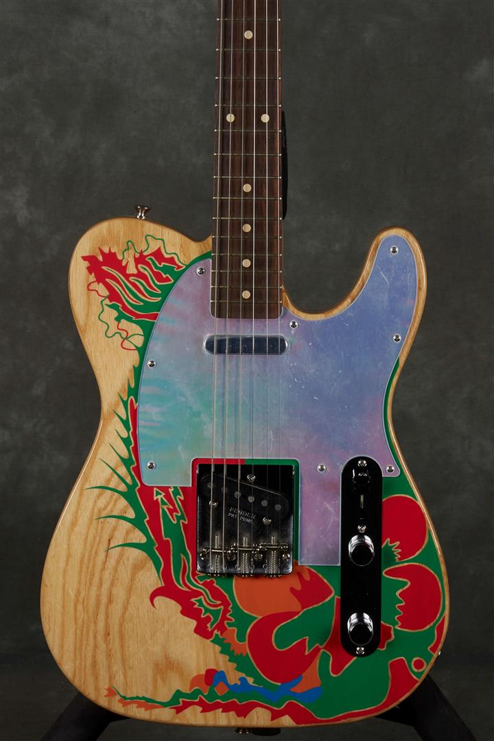Fender Jimmy Page Telecaster Artist Model - RW - Natural