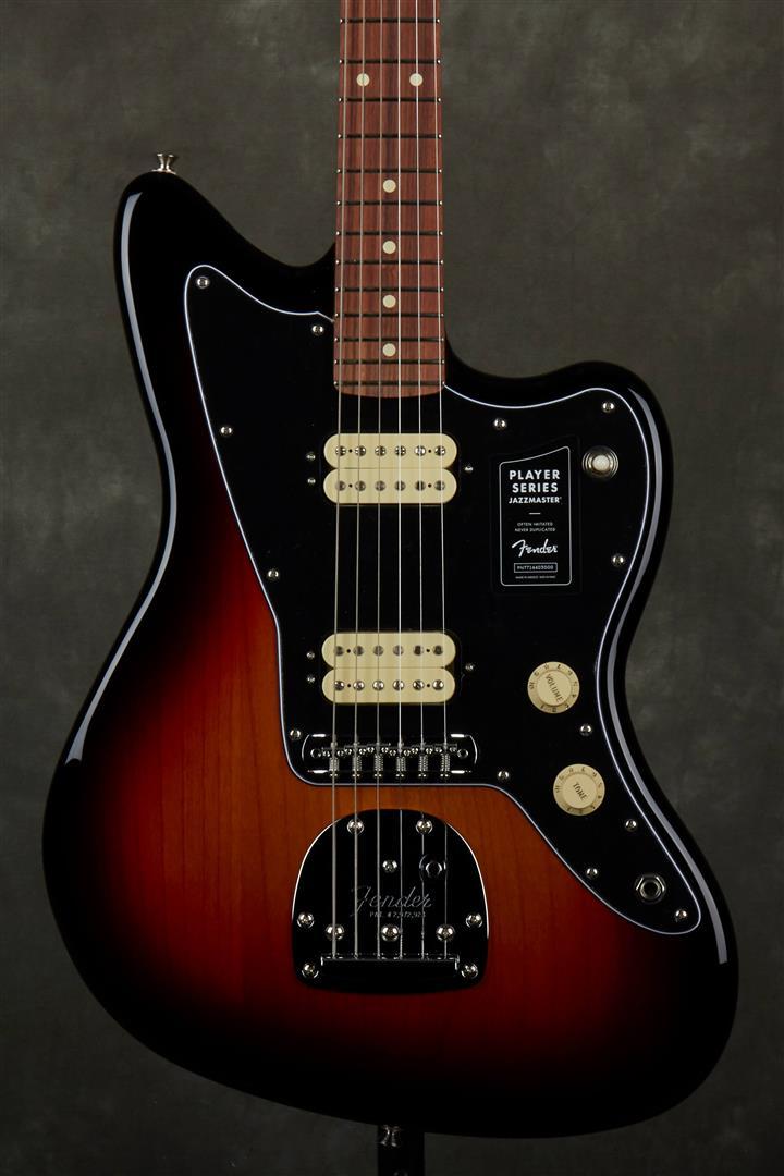 Fender Player Jazzmaster - PF - 3-Tone Sunburst