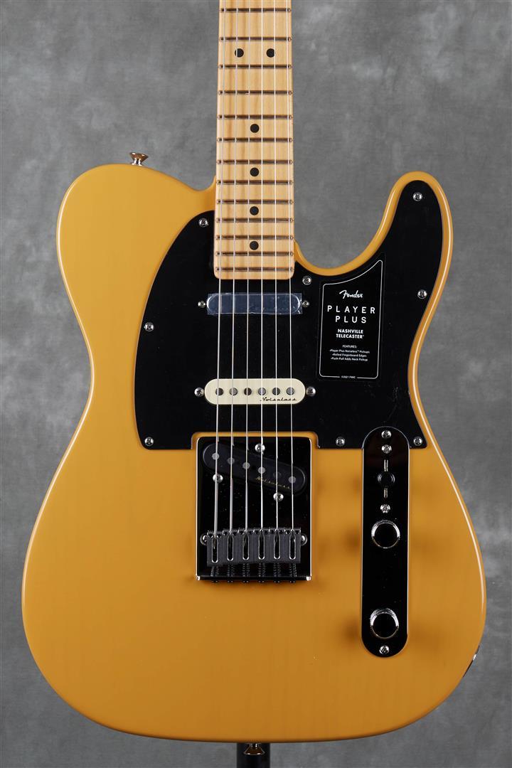 Fender Player Plus Nashville Telecaster - MN - Butterscotch Blonde
