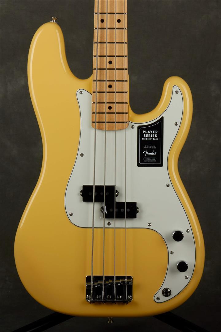 Fender Player Precision Bass - MN - Buttercream
