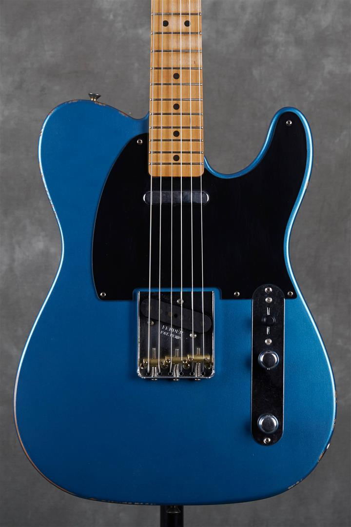Fender Vintera Road Worn 50s Telecaster - MN - Lake Placid Blue
