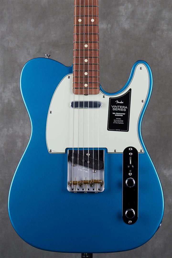 Fender Vintera Series 60s MOD Telecaster - PF - Lake Placid Blue