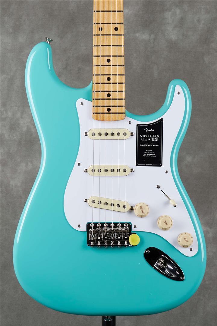 Fender Vintera Series 50s Stratocaster - MN - Sea Foam Green