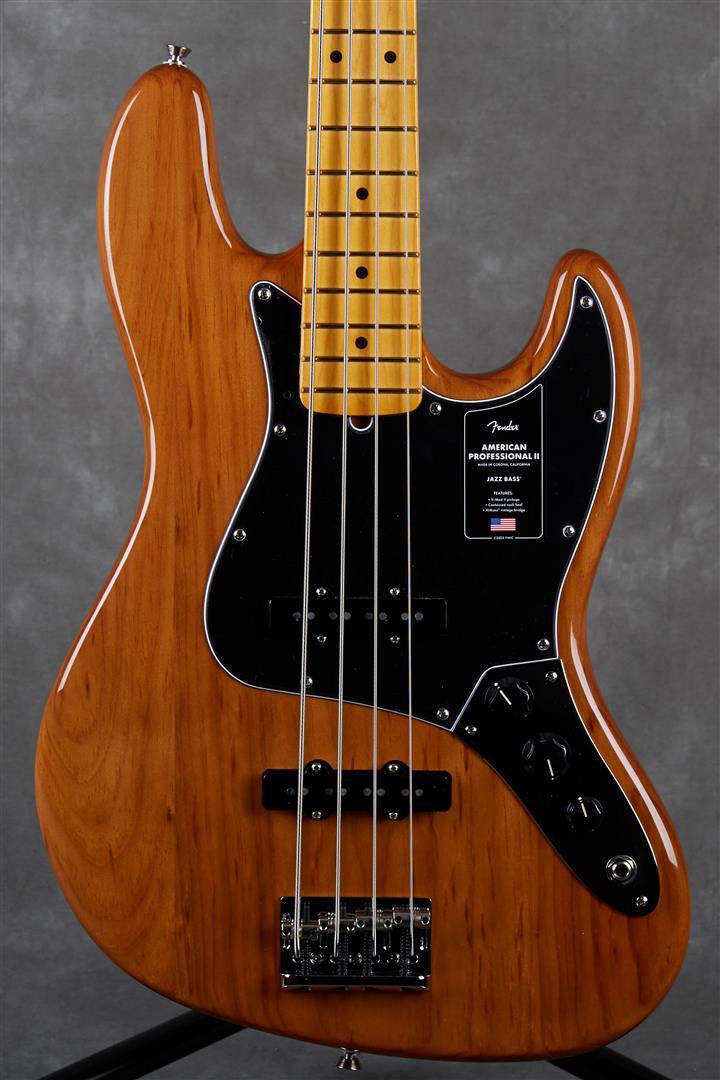 Fender American Professional II Jazz Bass - MN - Roasted Pine