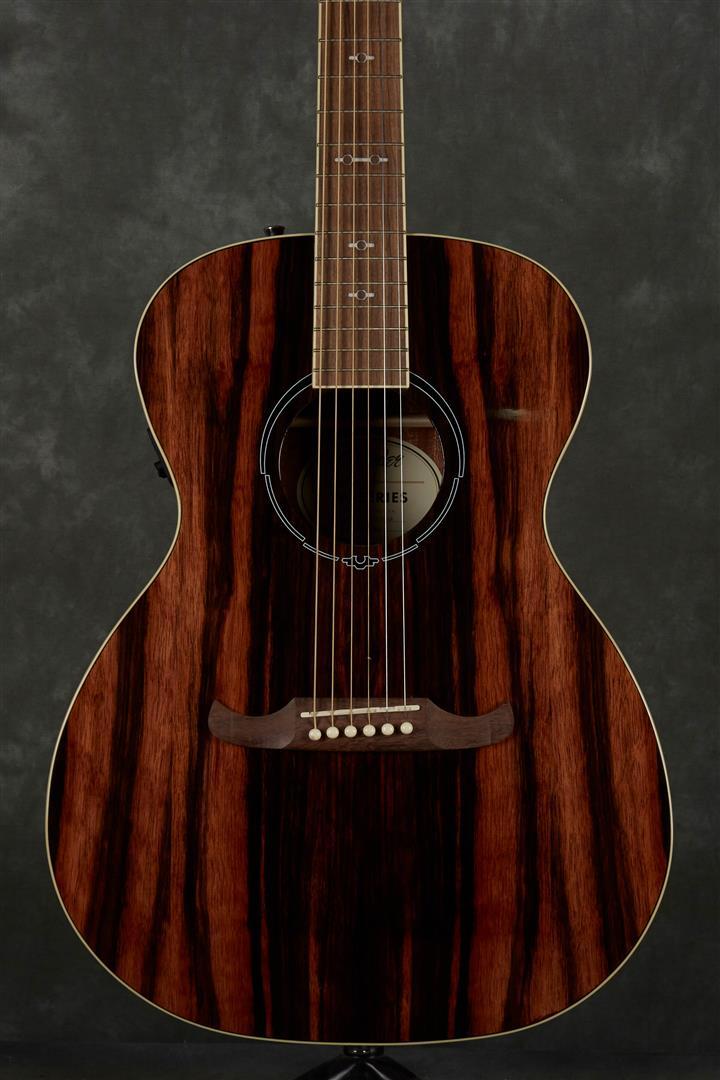 Fender FA-235E FSR Exotic Wood Electro-Acoustic Guitar - Striped Ebony
