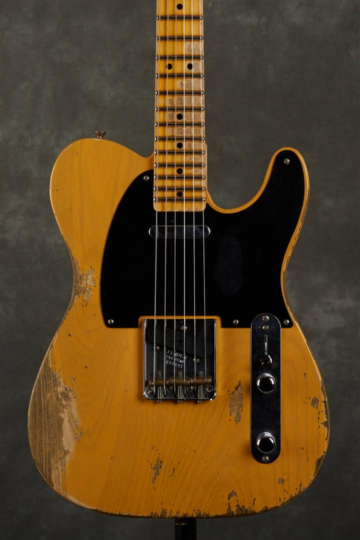 Fender Custom Shop 51 Nocaster, Heavy Relic - MN - Butterscotch Blonde