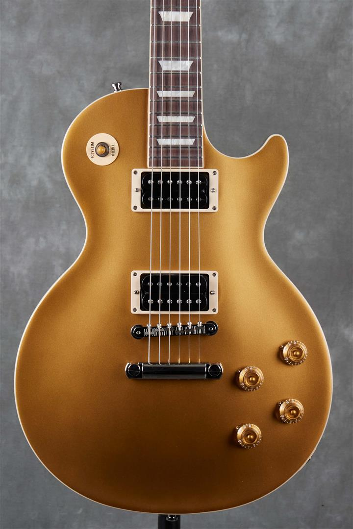 Gibson Slash ″Victoria″ Les Paul Standard - Gold Top Dark Back