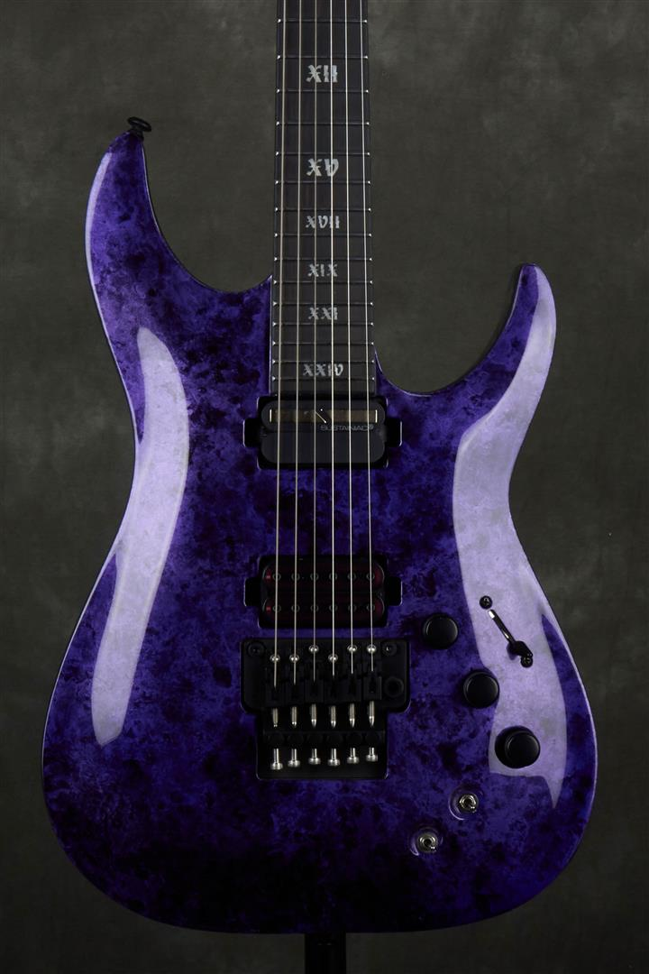 Schecter C-1 FR S Apocalypse - Purple Reign