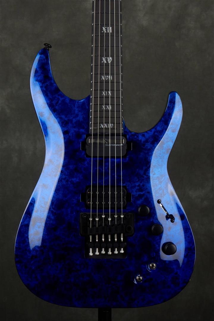 Schecter C-1 FR S Apocalypse - Blue Reign