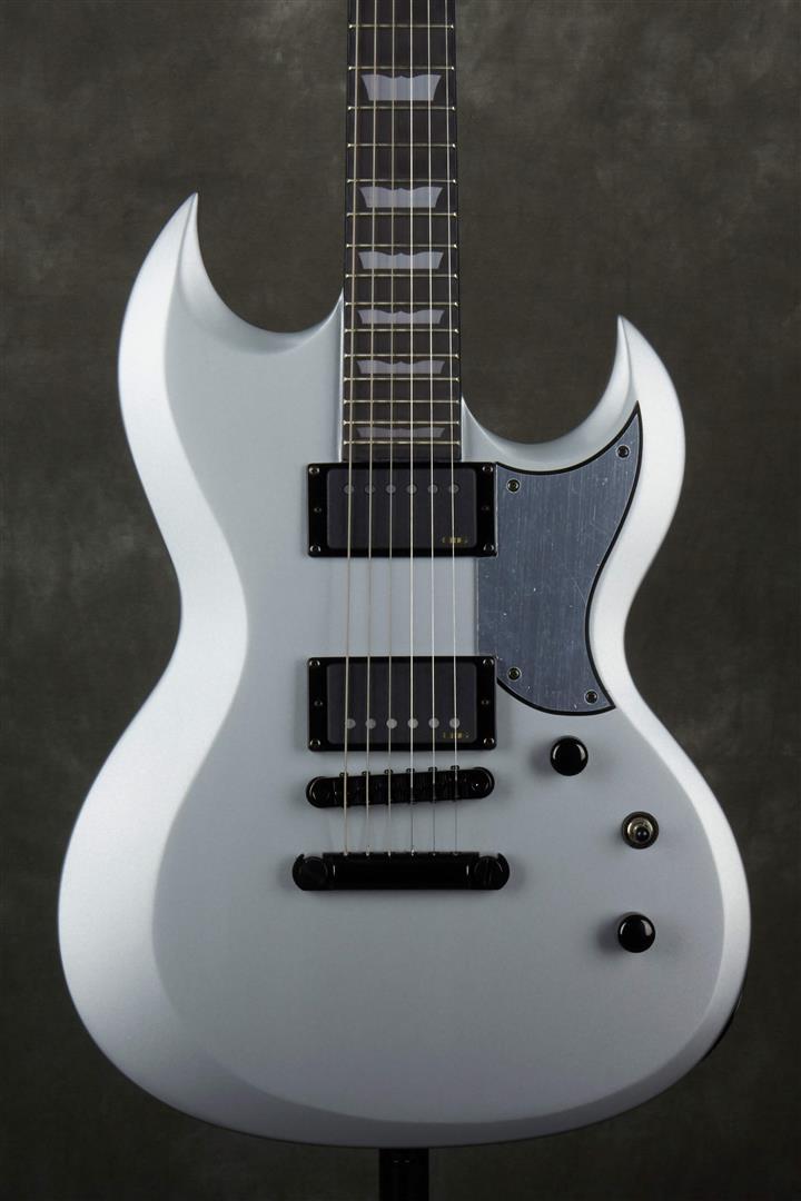 Schecter S-II Platinum Electric Guitar - Satin Silver