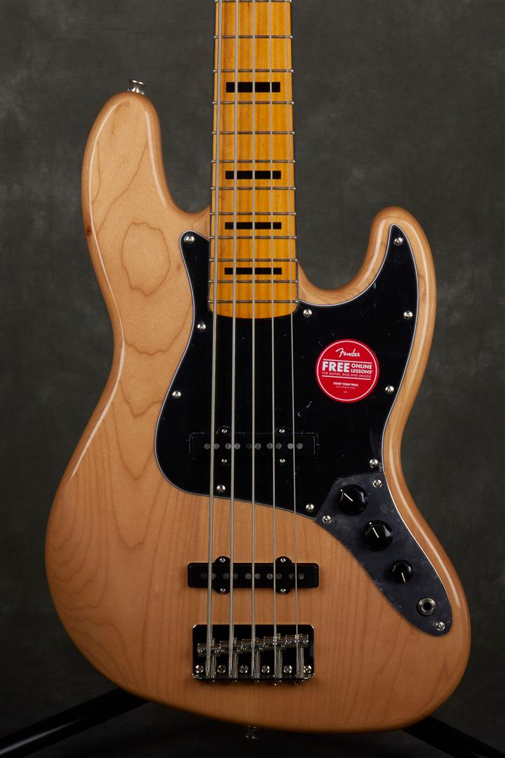 Squier Classic Vibe 70s Jazz Bass V - MN - Natural
