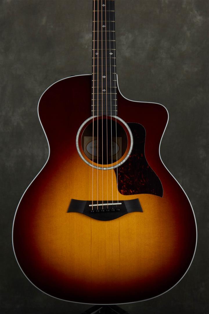 Taylor 214ce-CF DLX Electro-Acoustic - Sunburst