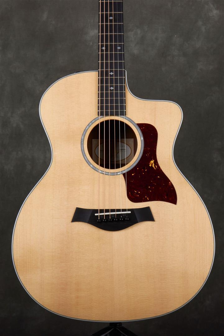 Taylor 214ce-CF DLX Electro-Acoustic Guitar
