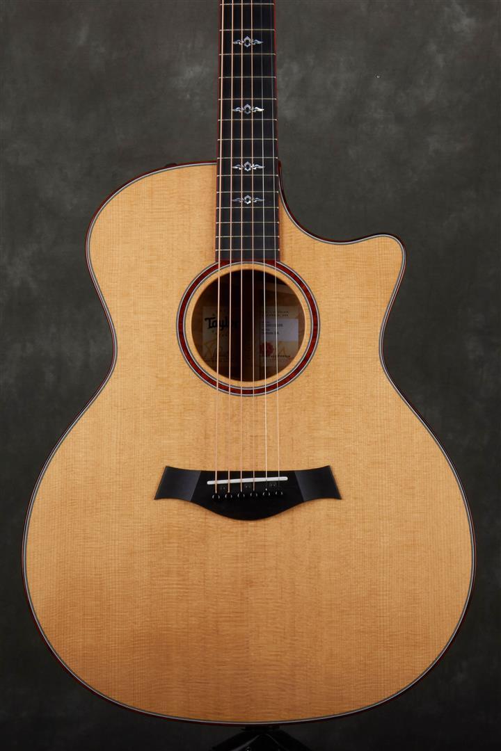 Taylor Custom GA-ce Koa Electro-Acoustic Guitar - Natural